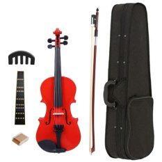 1/8 Splint Đàn Violon Cổ Điển Sáng Fiddle Với Bộ Dụng Cụ Giảm Thanh Rosin Case Bow