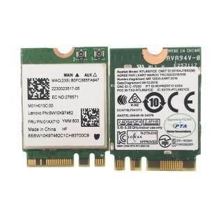 Thẻ Chuyển Đổi Kết Hợp RTL8821CE 802.11AC 1X1 Wi-Fi + BT 4.2 Card Mạng Không Dây FRU 01AX710 Cho Máy Tính Xách Tay Le No Vo thumbnail