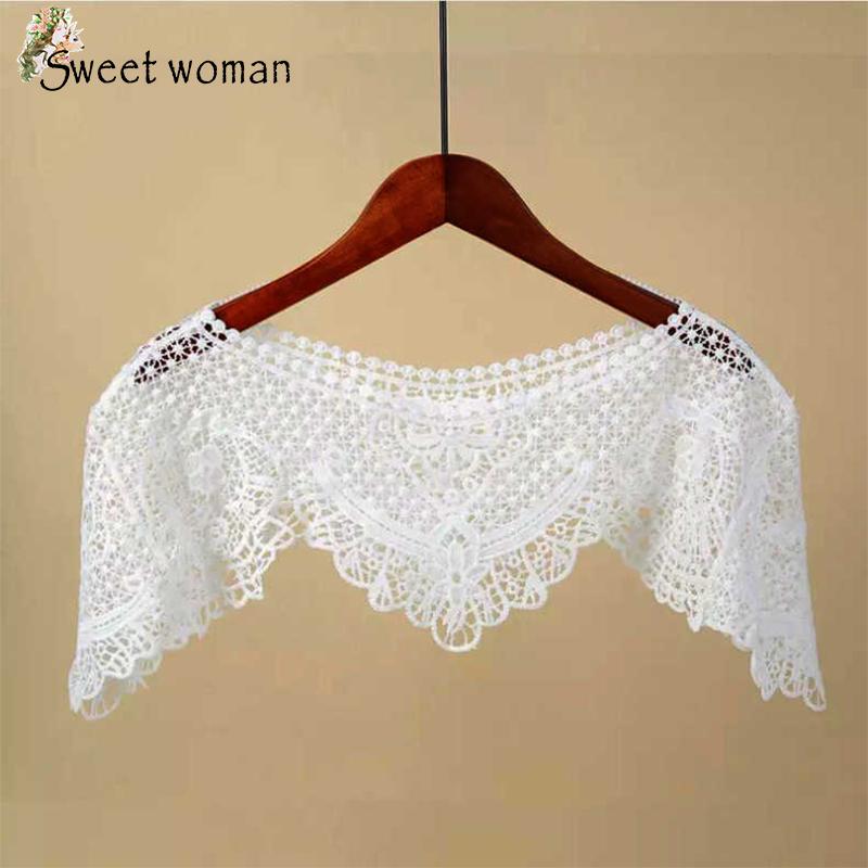 Áo khoác ren Hàn Quốc áo choàng nữ tính Sweet Woman