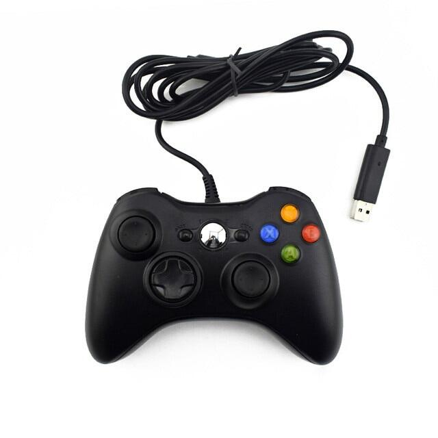 Tay Cầm Chơi Game Có Dây USB GTIPPOR, Cần Điều Khiển Cho Xbox 360 Dành Cho Bộ Điều Khiển Microsoft PC Chính Thức Cho Windows 7 8 10