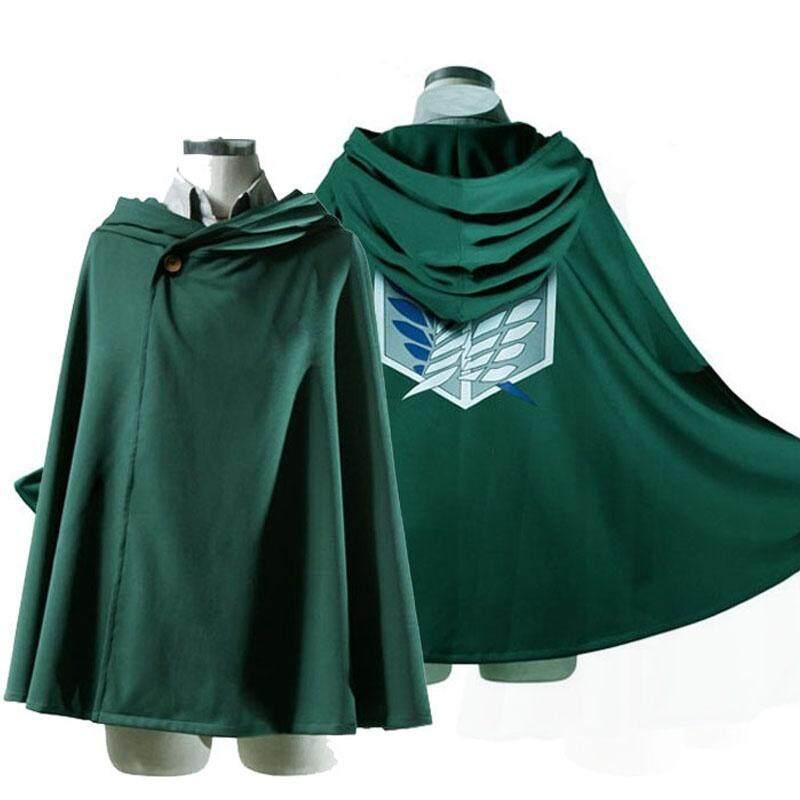 Novelty Anime Shingeki No Kyojin Cloak Cape Clothes Unisex Coser Cloak Cartoon Costumes Cosplay Attack on Titan Oversize