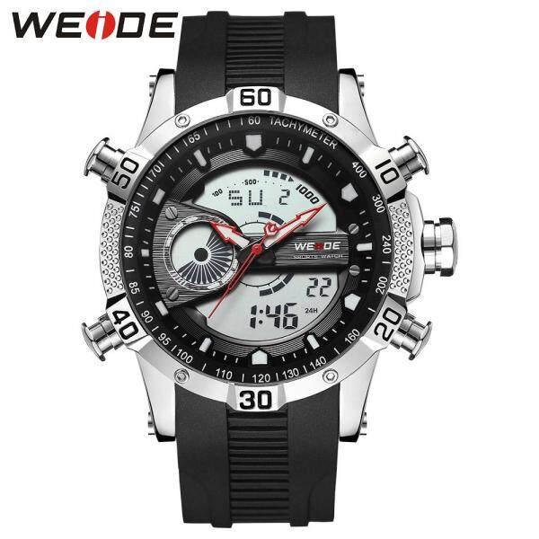 Nơi bán WEIDE wh6902 hiển thị kép hai chuyển động thạch anh kỹ thuật số đàn ông Đồng hồ đeo tay 3ATM LCD chống nước đèn nền thể thao báo thức lịch tuần tự động ngày đồng hồ bấm giờ đồng hồ đeo tay 24 giờ với con trỏ phát sán