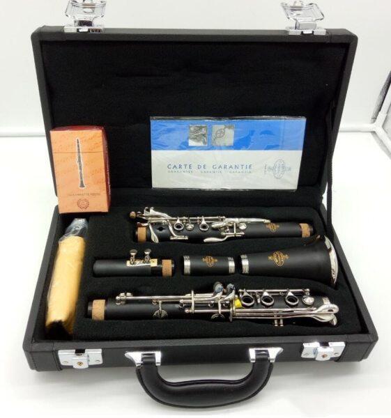 New Buffet Crampon Blackwood Clarinet E13 Model Bb Clarinets Bakelite 17 Keys Musical Instruments with Mouthpiece Reeds Malaysia