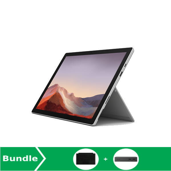 [Bundle Deal] Microsoft Surface Pro 7 i5 8GB RAM 256GB Platinum + Type Cover + Docking Malaysia