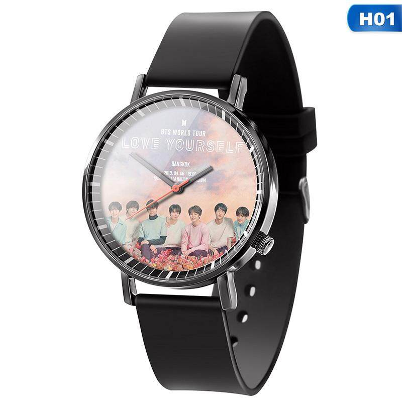 Kpop BTS Watch LED Waterproof Luminous Wristwatch Malaysia