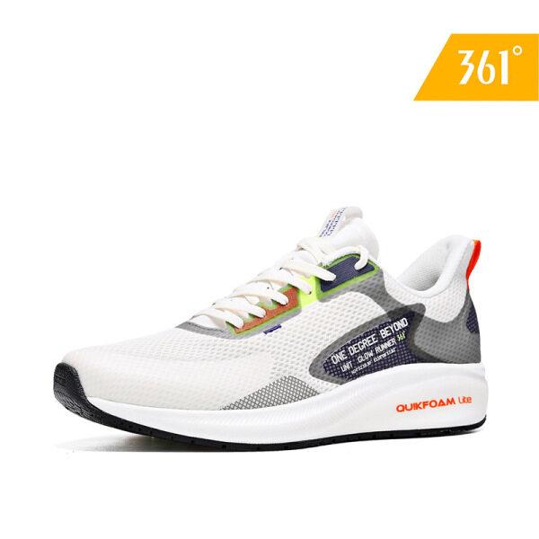 Giày Thể Thao Nam 361 Độ, Chống Nước, Vải Lưới Nhẹ, Thoáng Khí, Hiệu Suất Chạy Bộ 572012216