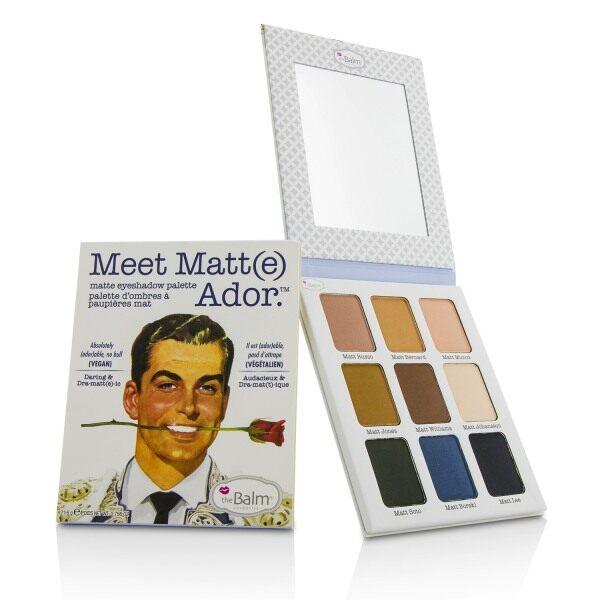 Buy THEBALM - Meet Matt(e) Ador Matte Eyeshadow Palette 21.6g/0.756oz Singapore