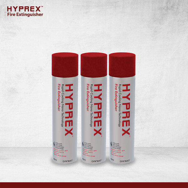 [OFFICIAL MANUFACTURER] HYPREX Fire Extinguisher - Jumbo Pack 3