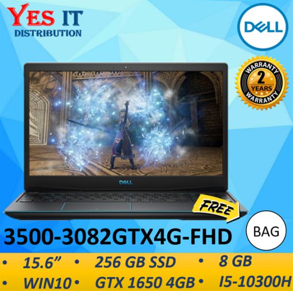 DELL GAMING G3 15 3500-3082GTX4G-FHD LAPTOP ( I5-10300H, 8GB, 256GB SSD, GTX 1650 4GB, 15.6FHD, W10, 2YW ) FREE BAG Malaysia