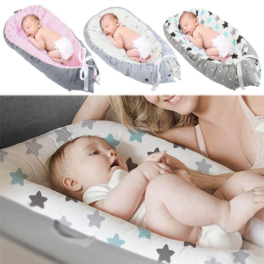 Newborn Baby Pod Nest Reversible Bed Sleep Newborn Cushion Sleepyhead Nest Bed
