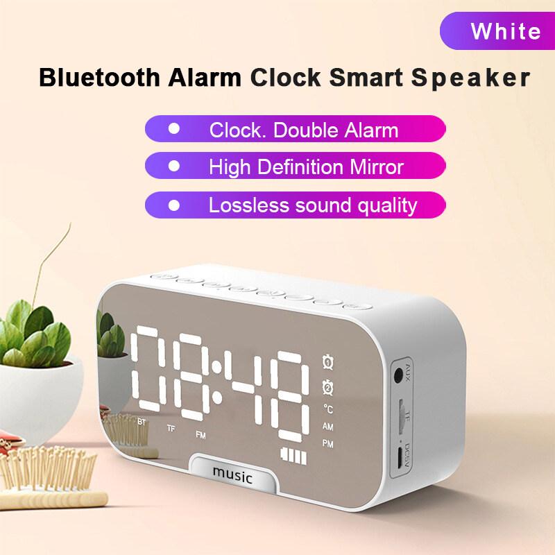 ลำโพง Bluetooth มัลติฟังก์ชั่ นาฬิกาปลุก วิทยุ จอแสดงผล Led ลำโพงบลูทูธ ลำโพงbluetooth ลำโพงพกพา.