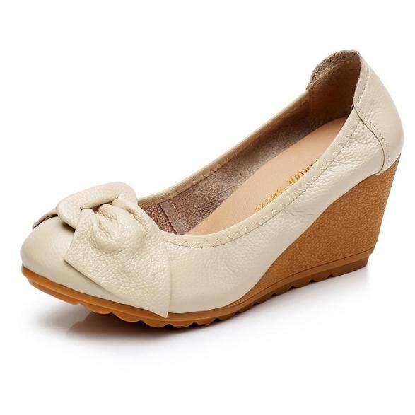 Giày Cao Gót Nữ, Đế Xuồng, Màu Trơn, Thoải Mái giá rẻ