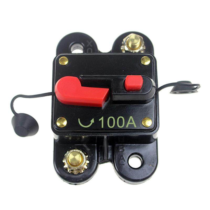 Car Audio Circuit Breaker Reset Fuse Automatic Recovery Protection Holder(100a) By Okwish.