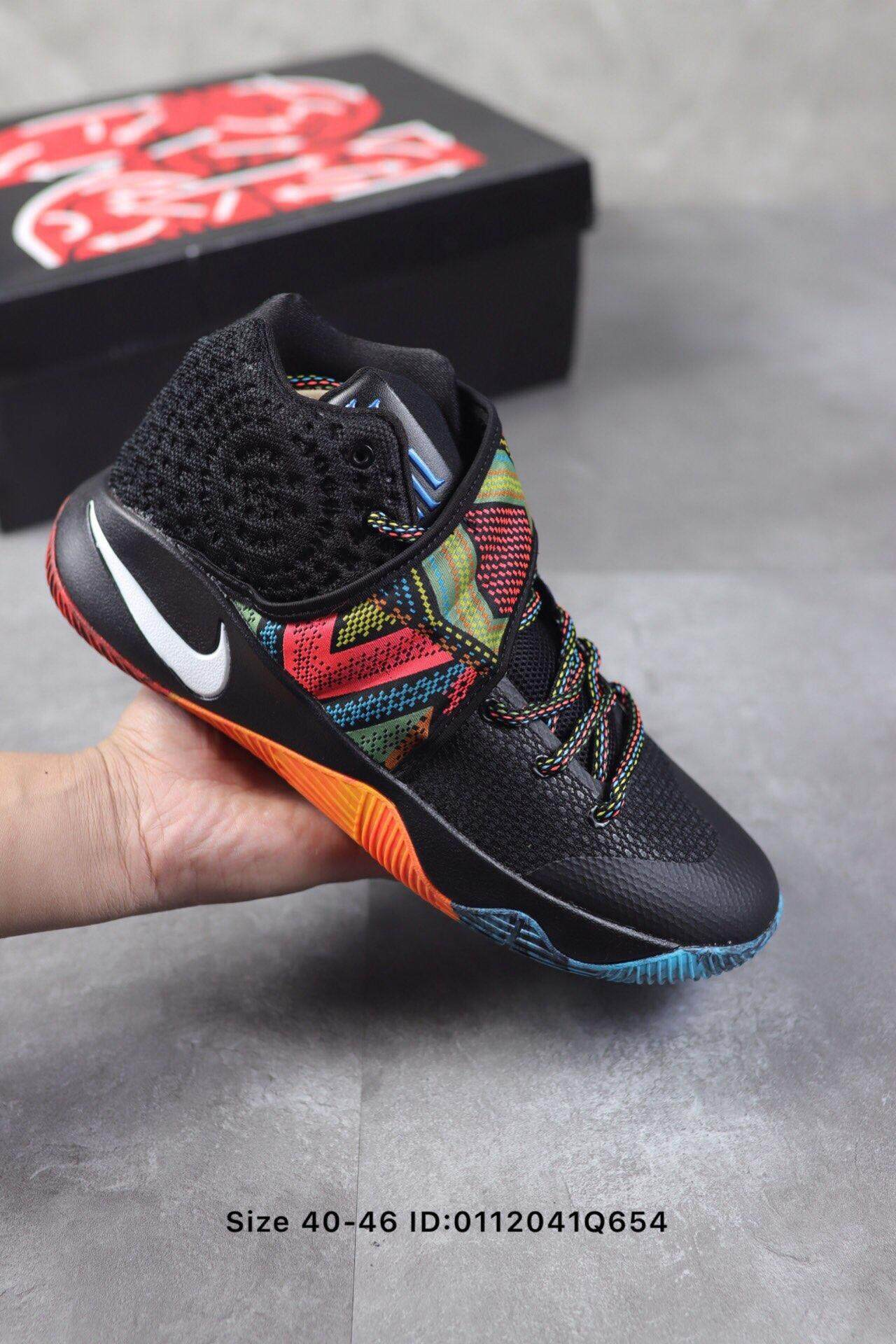 new concept 3e537 35731 2019 Nike Kyrie 2 BHM Owen 2 generation Men's basketball shoes leisure  cushioning comfortable running shoes