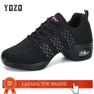 Giày Khiêu Vũ YOZO Cho Nữ, Giày Tập Nhảy Jazz Hiện Đại Đế Mềm Thoáng Khí Cho Nữ thumbnail