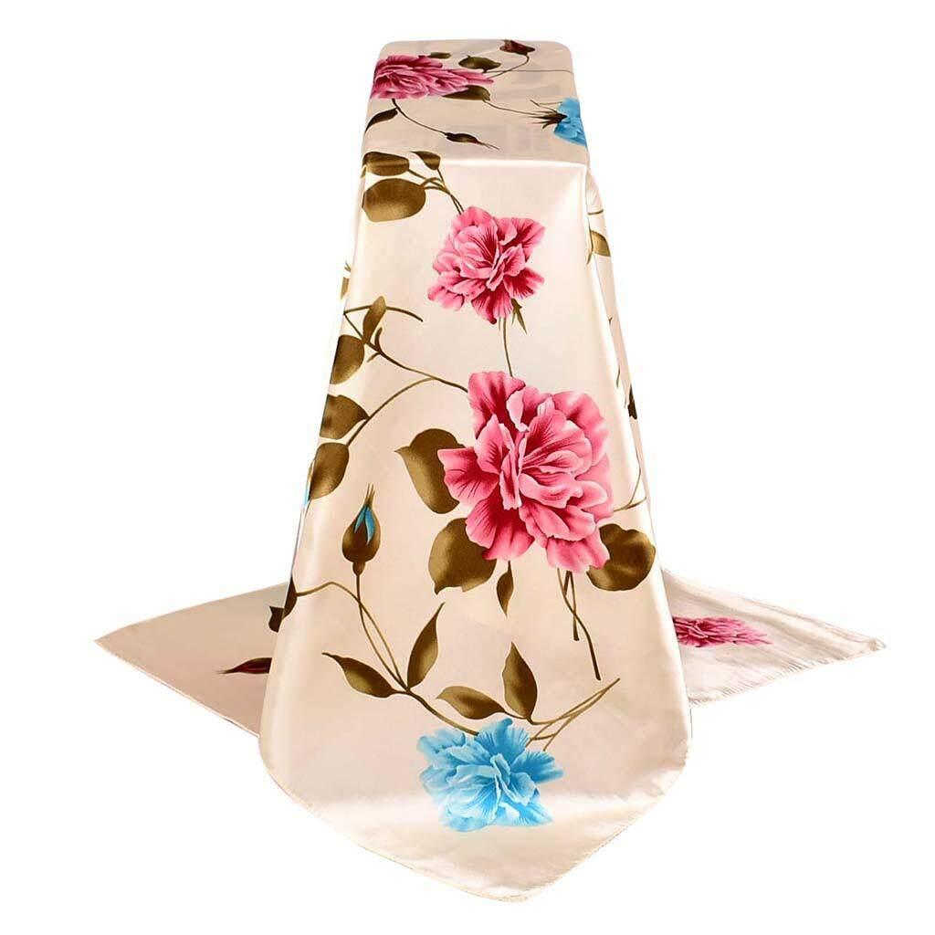 แฟชั่นผู้หญิงพิมพ์ผ้าคลุมไหล่แบบนุ่มผ้าพันคอห่อผ้าพันคอผ้าพันคอที่คาดผมแนวชายหาด By Yuwenhuaji Shop.