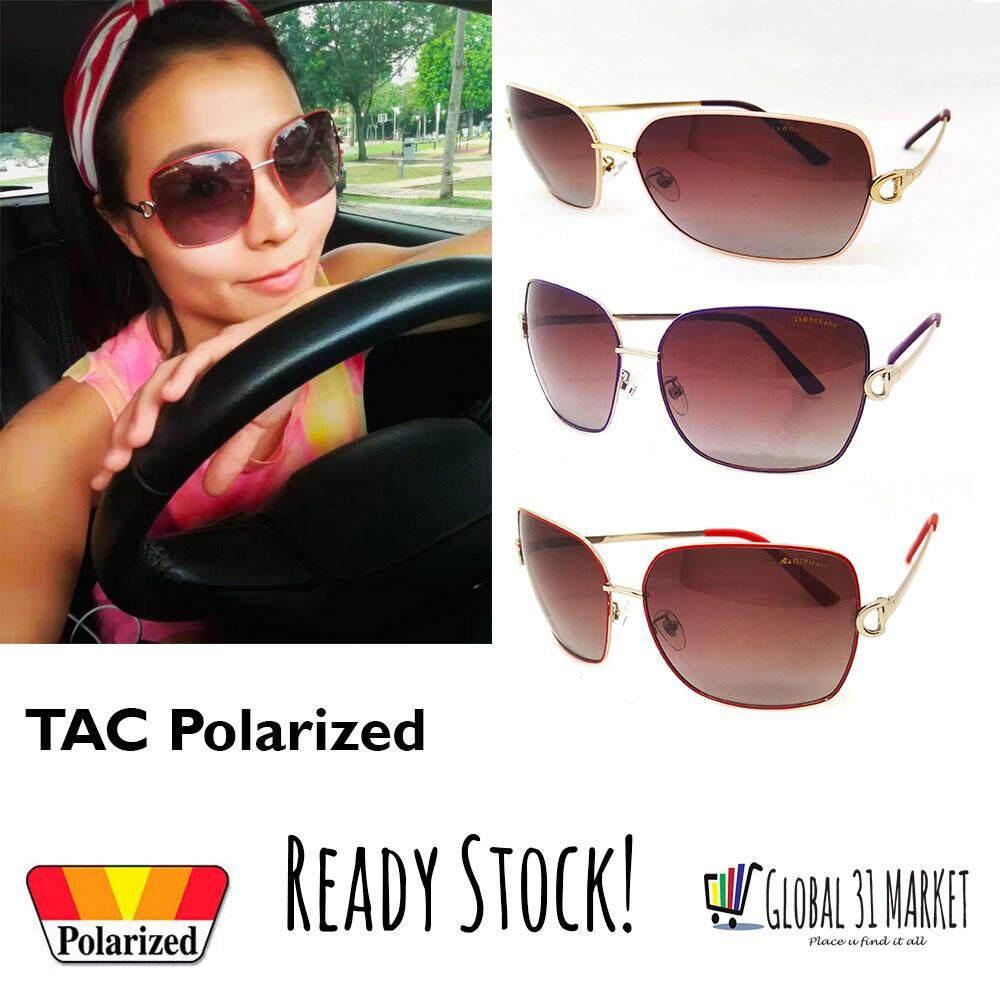 e546aa53982 Woman Big Size Sunglasses with TAC Polarized UV Protection (3 colours)  (Ready Stock