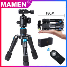 MAMEN Chân máy ảnh mini nhỏ gọn di động Điện thoại để bàn linh hoạt Chụp ảnh Chân đế bỏ túi