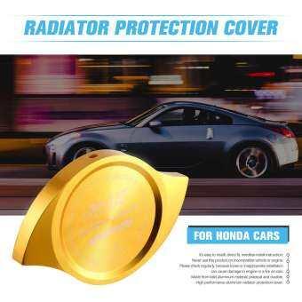 S2T หม้อน้ำรถยนต์อะลูมิเนียมป้องกันน้ำมันใช้ได้ทั่วไปฝาครอบเหมาะสำหรับฮอนด้ารถยนต์-