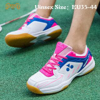 EU35-44 PUQ Size Giày Cầu Lông Chuyên Nghiệp Giày Chơi Tennis Bóng Bàn Cho Học Sinh Trung Học Phổ Thông Thoáng Khí Chống Mài Mòn Siêu Nhẹ Cho Nam Và Nữ Giày Nữ Màu Hồng thumbnail