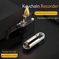 KEY Portable U Disk 8GB Recorder Keychain USB 2.0 Máy Ghi Âm Máy Nghe Nhạc MP3 Tai Nghe Điều Khiển Dòng Hoạt Động Mặt Dây Chuyền Đa Chức Năng