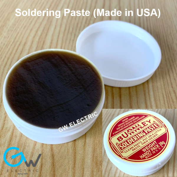 Solder Paste 28g For Soldering (Made in USA), Use with Solder Gun / Solder Iron