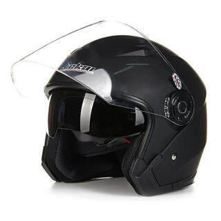 MA Mũ bảo hiểm xe máy hở mặt có kính bảo hộ dạng lật kính che nắng kép để lái xe máy ngoài trời thumbnail