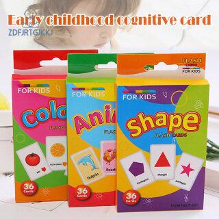Baby Kids thẻ trò chơi đồ chơi trái cây cá nhận biết đào tạo thông minh Giáo Dục Sớm thumbnail