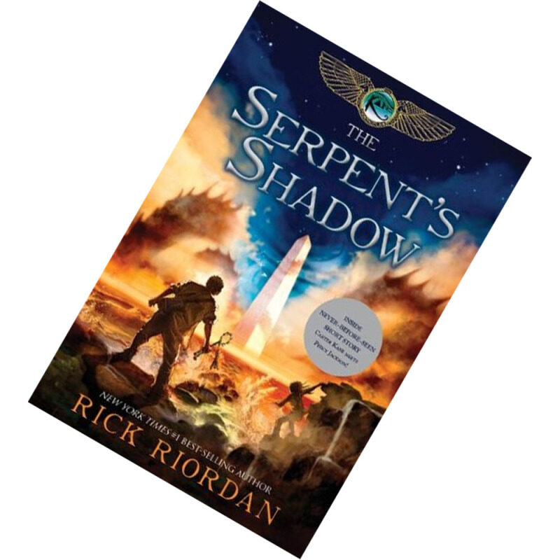 The Serpents Shadow (The Kane Chronicles #3) by Rick Riordan [PAPERBACK] Malaysia