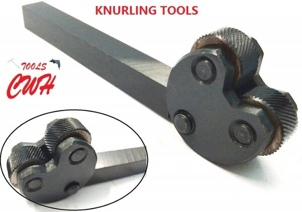 INDIA Knurling Tool Holders 2 KNURLS KNURL 3 6 LATHE CNC BEARING