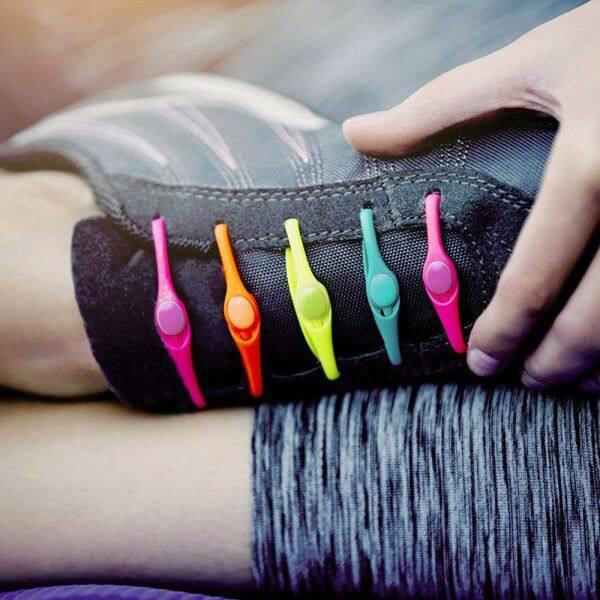 Giá bán Amazfit Gholiday Giày Thể Thao Không Buộc Màu Kẹo Hợp Thời Trang Co Giãn Phụ Kiện Giày Tròn Dây Giày Nữ Dây Buộc Không Có Khóa Bằng Silicon