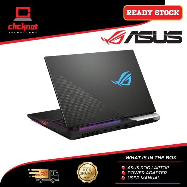 ROG STRIX SCAR 15 (G533Q-RHF079T)/ Ryzen 9 5900HX/ 32GB RAM/ 1TB SSD/ RTX 3070/ 300Hz 3ms/ FHD/ Windows 10 Home/ 2 Years Warranty Malaysia