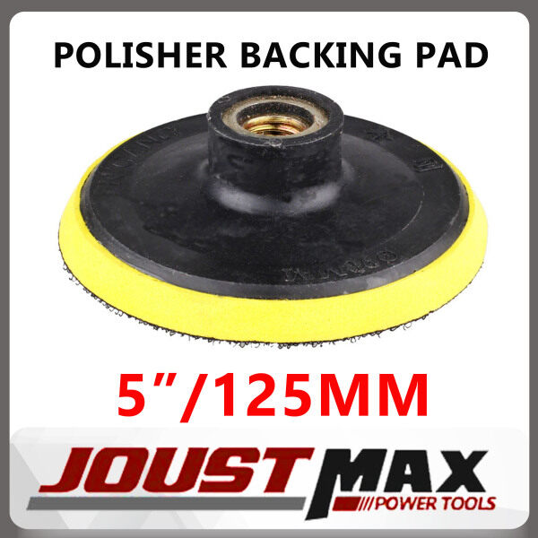 RP125 5 INCH / 125MM M10 Polisher Backing Pad Polish Pad Backer Pad Thread Polishing Buffing Pad