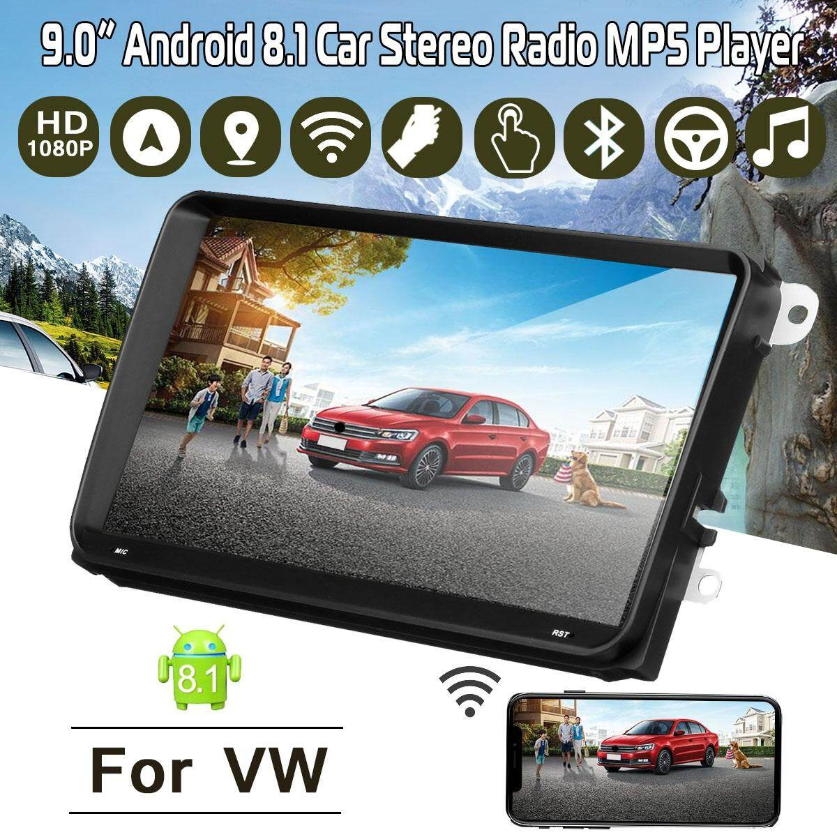 9 Android 8.1 Wifi Dab+ Dtv-In Navi Hd Mp5 Player Car Radio Stereo Gps For Vw By Haldis.