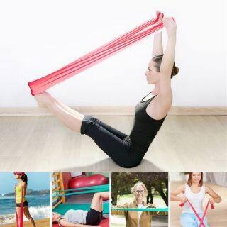Dây Yoga Co Giãn 2M Dây Kháng Lực Phụ Kiện Đai Tập Thể Dục thumbnail