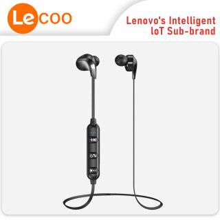 Tai Nghe Không Dây Lenovo-Lecoo ES204 Tai Nghe Bluetooth Thể Thao, Micro Điều Khiển Bằng Dây Đeo Cổ Thể Thao Tai Nghe Chìa Khóa Đa Năng thumbnail