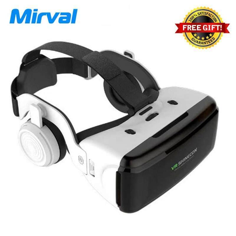 f0e2157f0d1a Mirval VRS1 Casque Shinecon Helmet 3D VR Glasses Virtual Reality Lens For Smartphone  Smart Phone Google