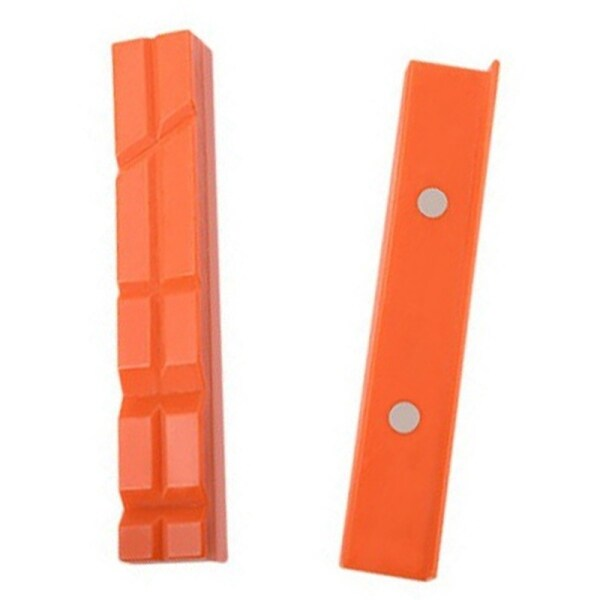 1 Set Protector Jaw TPU Rubber Magnetic Vise Protective Pad Clamp Tool 6Inch Table Vise,Vise Jaws Pads,Vise Jaws Covers