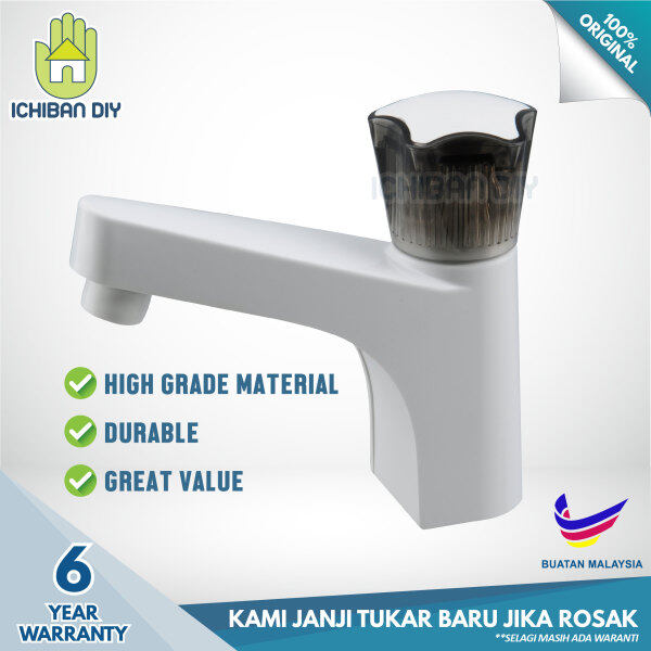 Pillar Basin Tap R601B sink faucet bathroom kepala paip pili air sinki bilik air [ichiban DIY]