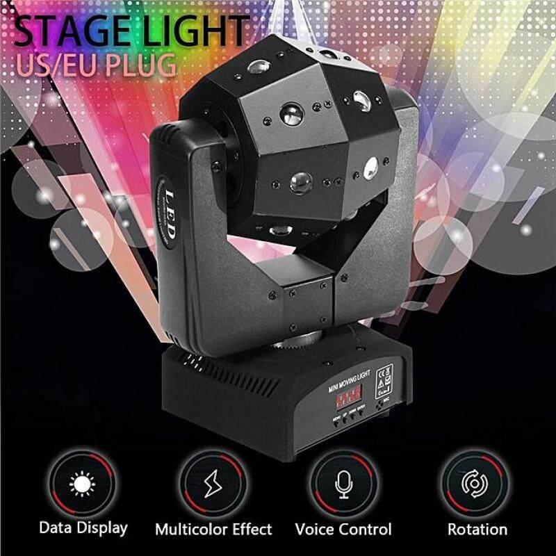 16 LED 4in1 RGBW DMX Moving Head Beam DJ Disco Club Party Stage Lighting Lamp US Plug Malaysia