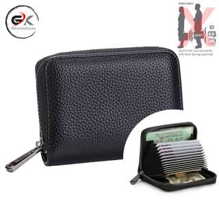 Hộp Đựng Thẻ RFID Glorakevin Ví Da PU Cho Nam Túi Đựng Tiền, Ví Ngắn Cổ Điển Cho Nam, Ví Mỏng Sức Chứa Lớn Cho Nam thumbnail
