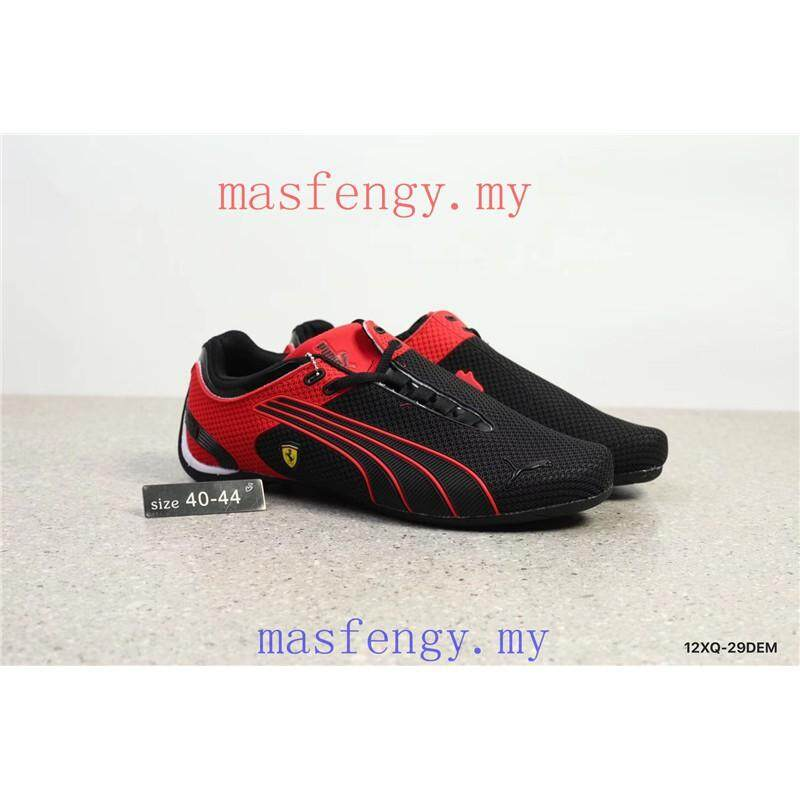 SLK ★ Original Puma shoes F1 Ferrari MOTORSPORT RUNNER 5 red sneakers mans shoes