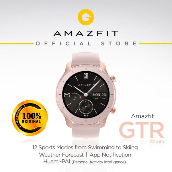 Amazfit GTR 42mm Fitness Smartwatch - Global Version (1 Year Malaysia Warranty) Malaysia