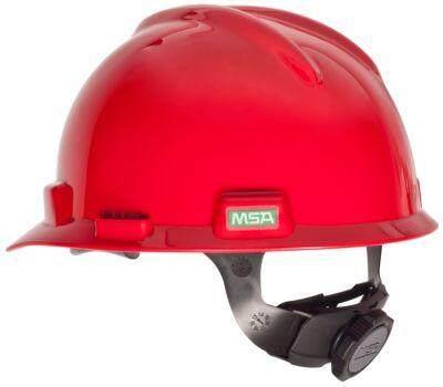 MSA V-GARD HARD CAP FASTRAC III (WHITE/YELLOW/BLUE/RED/GREEN)