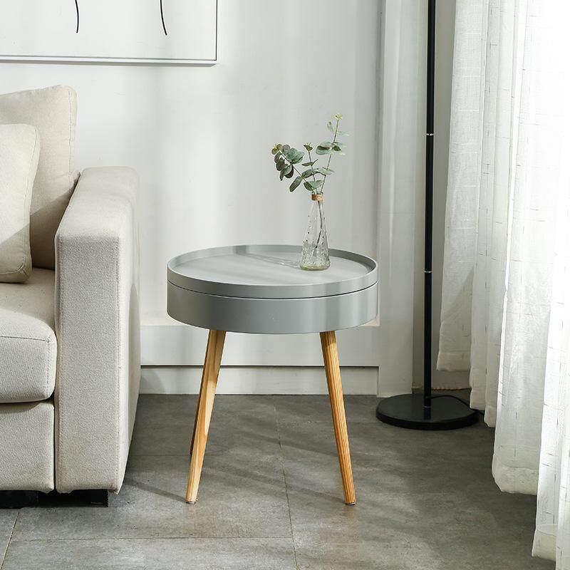 Nordic Meja Kopi Sederhana Apartemen Kecil Ruang Tamu Kreatif Sofa Multifungsi Meja Kopi Samping