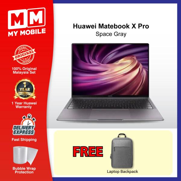 Huawei MateBook X Pro (i7/16GB RAM/1TB SSD/MX 250 Graphic/Touch Screen) Original Laptop Malaysia Set (2 Years Huawei Warranty) + 2 Free Gift Malaysia