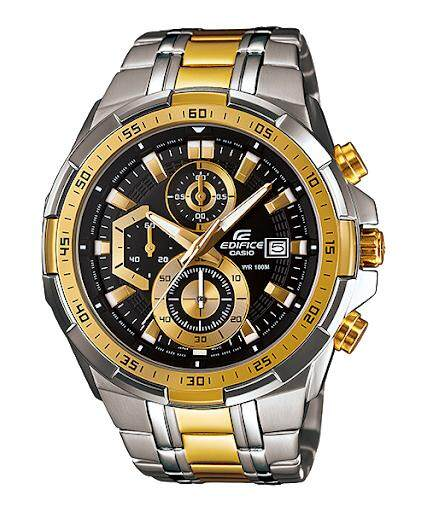 Casio_Edifice EFR 539 series All Function Fashion Leather / Stainless Men Steel Watch Malaysia