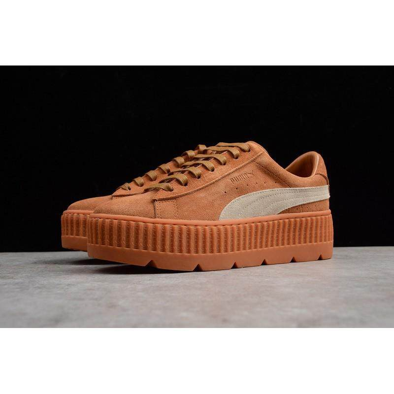 Brand Pumas Fenty Suede Cleated Creeper Women Sport Shoes Fashion Casual  sneakers 4d269bd9a