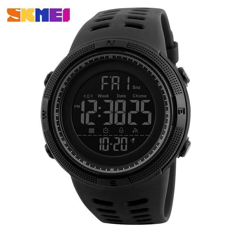 ca4495a3e SKMEI Brand Men Sports Watches Fashion Chronos Countdown Men's Waterproof  LED Digital Watch Man Military Clock