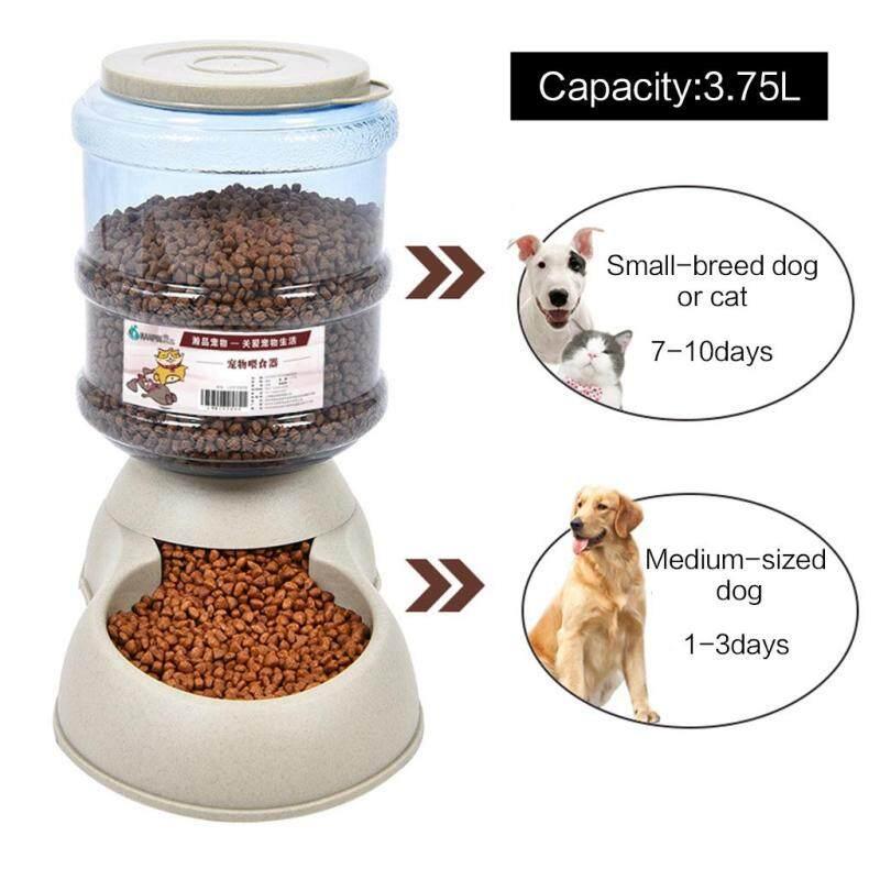 3,7 L Dung Tích Lớn Bằng Nhựa Cat Dog Máy Cấp Nước Tự Động Máy Cấp Nước Cho Thú Cưng Bát Tự Phân Phối Trọng Lực
